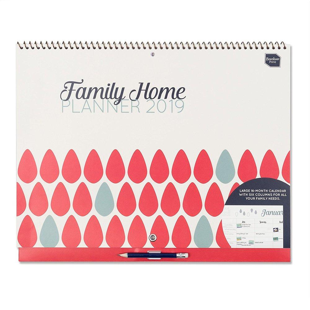 Calendario di famiglia - 2018/2019 con spazio per 6 componenti