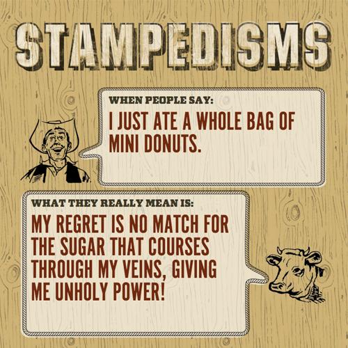 Stampedisms