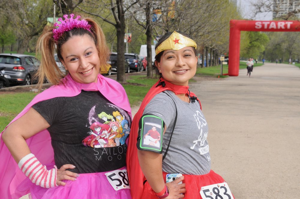 Register to Run - click here to sign up for the 5k/8k superhero run!