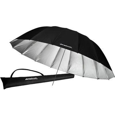Westcott 7ft Parabolic Umbrella (Silver)