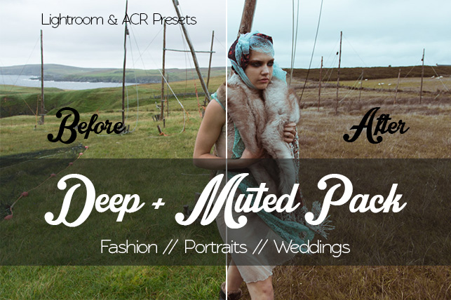 Deep & Muted Pack -