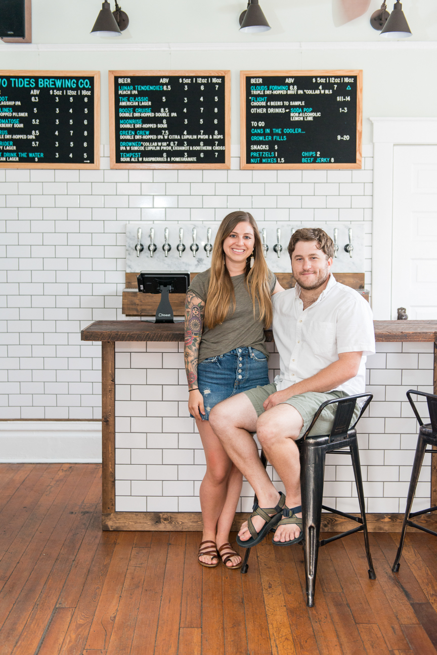 Two Tides Brewing Co. | Micro-Brewery, Savannah, GA | James and Liz Massey | Southern Brewery | Starland District | Paprika Southern
