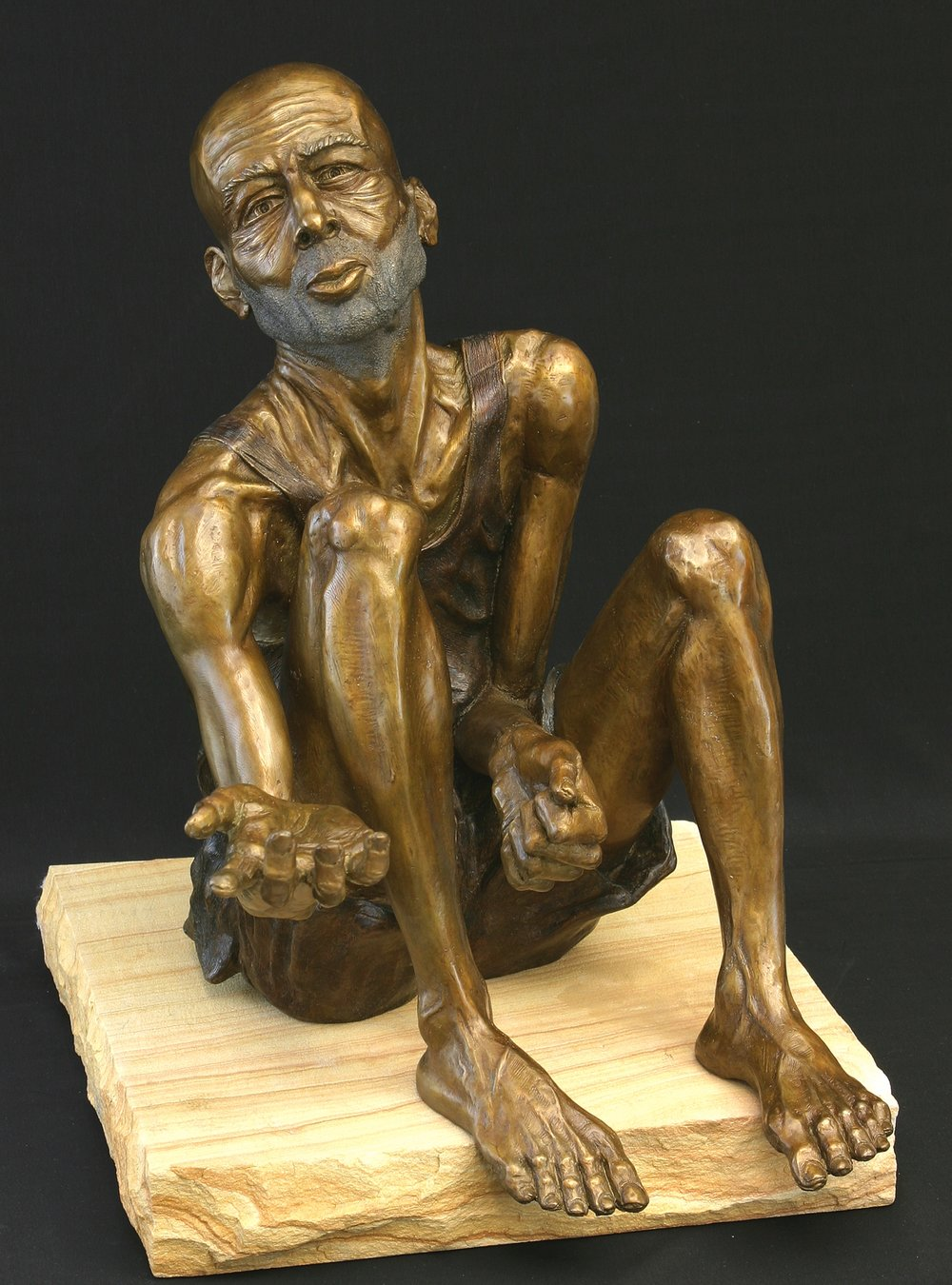 Seated Beggar