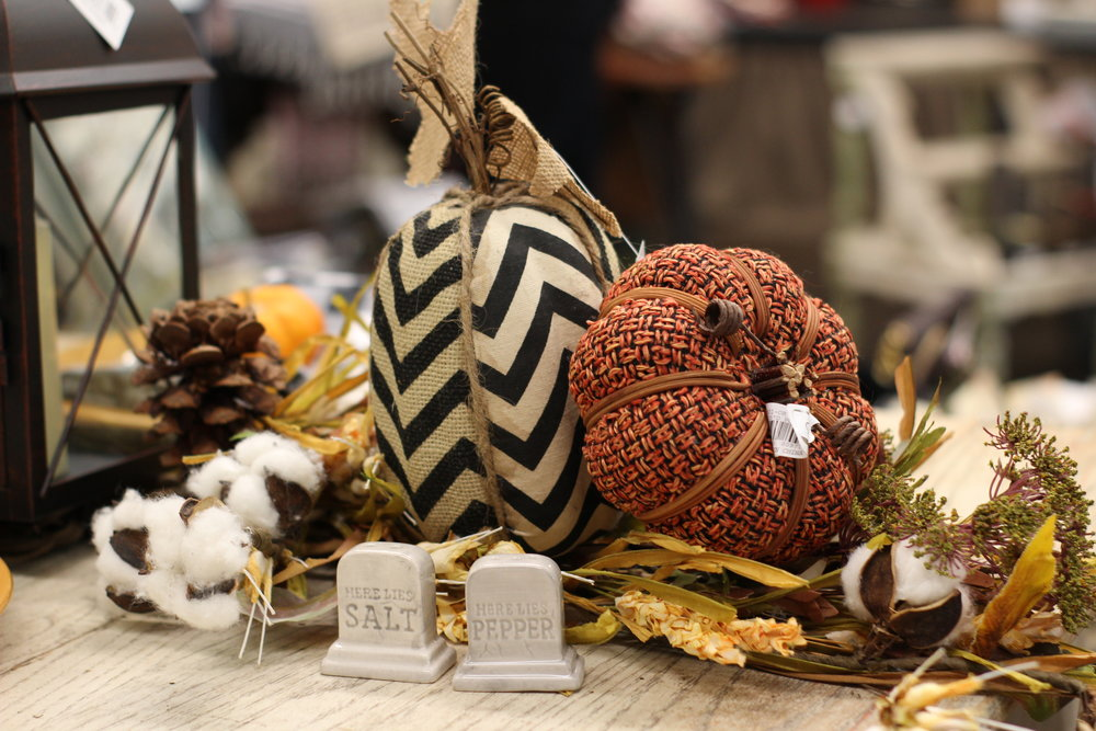 Decor from  Blooms Boutique
