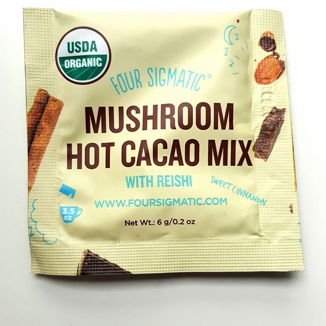 🍄 @foursigmatic break time 🍄 Chose a reishi mushroom blend today to help me relax and de-stress.  Great for stress, adrenal fatigue, calming the mind, anxiety, relaxation, and overall feelings of zen  #busymom #momlife #mushrooms #foursigmatic #coffee #healthyeating #healthylifestyle #beautyandthebeast #healthcoach #healthcoaching #relax #chill #chillvibes #holistichealth #holisticnutrition #nutrition  #plantbased #ketoapproved #adrenalfatigue #lettuceeatandnourish #coffeebreak