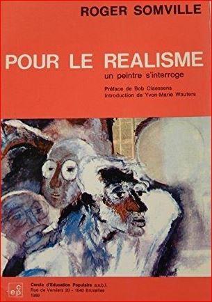"""Cover: """"Pour le realisme - Un peintre s'interroge"""", 1969"""
