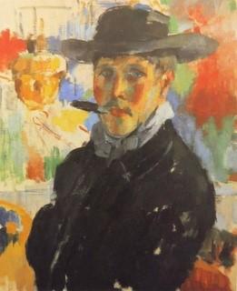 """Fig. 3: Rik Wouters: 'Zelfportret met sigaar"""" (1913)"""