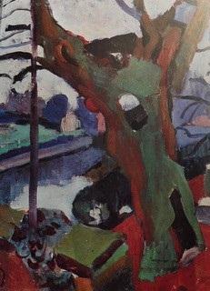 """Fig 6: André Derain: """"De oude boom"""" (1904-1905)"""