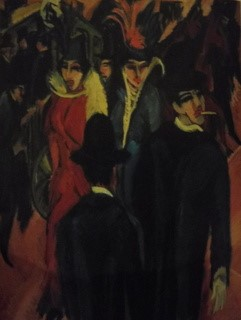 "Fig. 8: Ernst Kirchner: ""Straatscène"" (1913-1914)"
