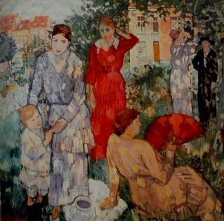 "Fig. 10: Jean Brusselmans: ""In de tuin'"" (1916)"