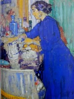 """Fig. 11: Jos Albert: """"In de keuken"""" (1916)"""