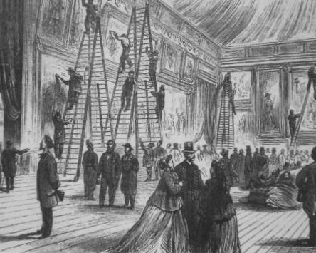 "B. Perry, ""Salon de Paris"" (1866)"