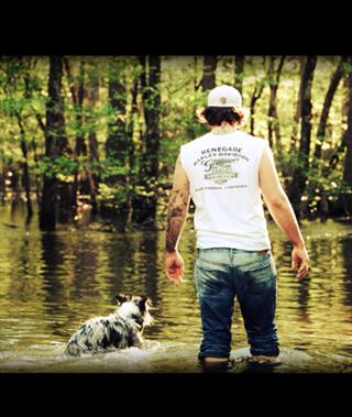 Trey and his girl 'Bonnie' in Louisiana -