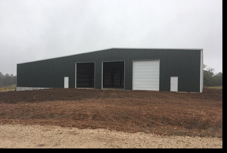 Equipment Storage Metal Building