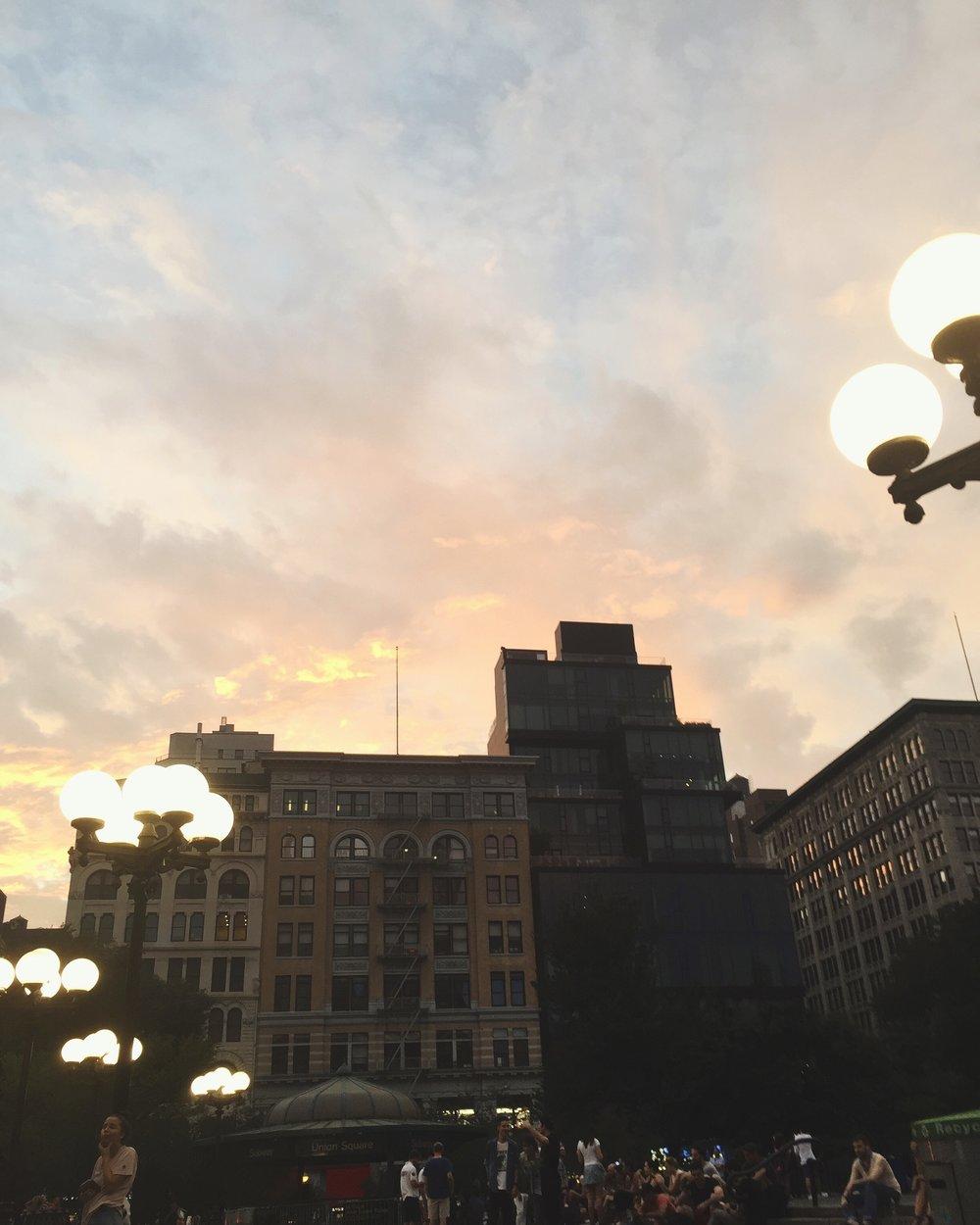 Union Square, 2016.