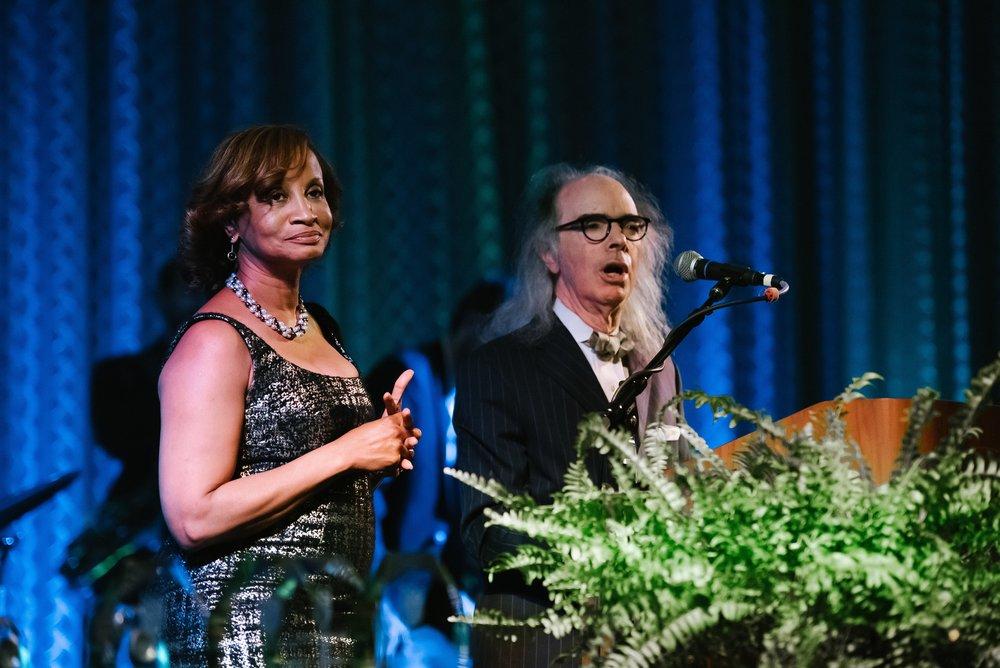 Stephanie Bridges (President of NOCCJ) & Harry Rosenberg (Former Co-Chairman)