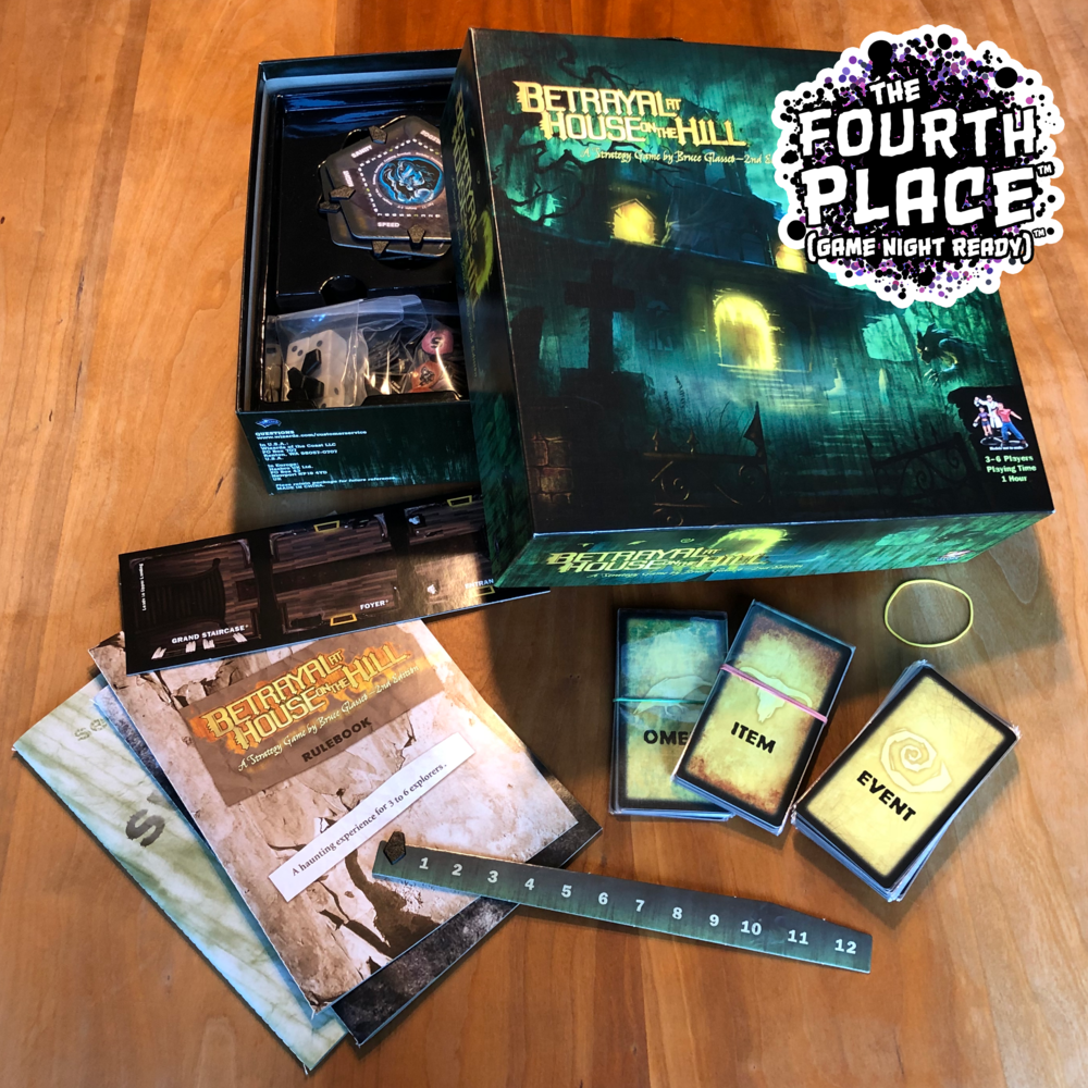 Betrayal at House on the Hill (Game Night Ready)™ edition