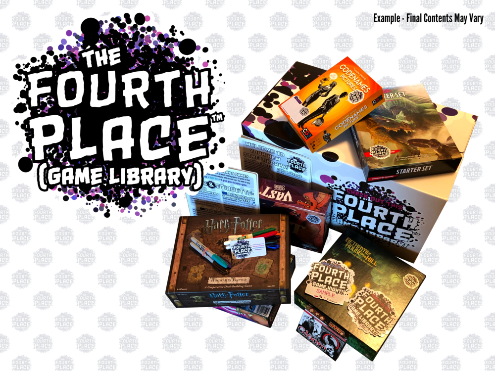 Board Game Library in a Box