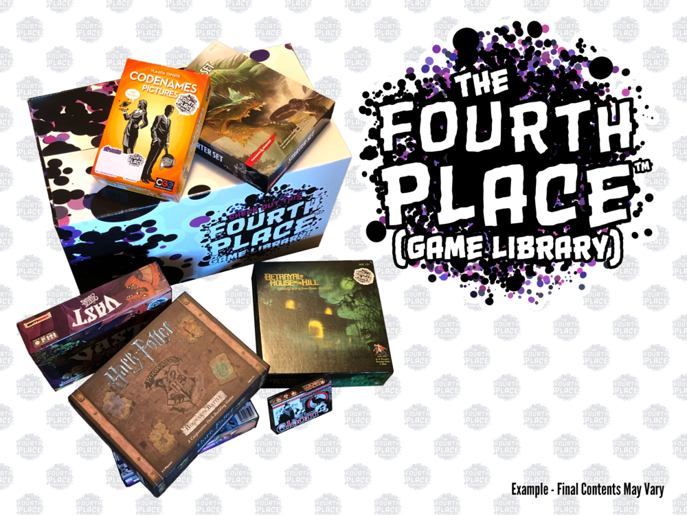 Board Game Library (In a Box) for Individual Players