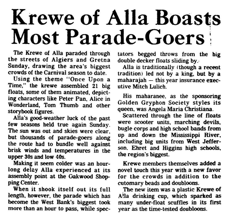 MardiGras.com - Inside the history of Mardi Gras cups