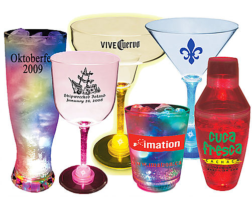 LIGHT UP DRINKWARE