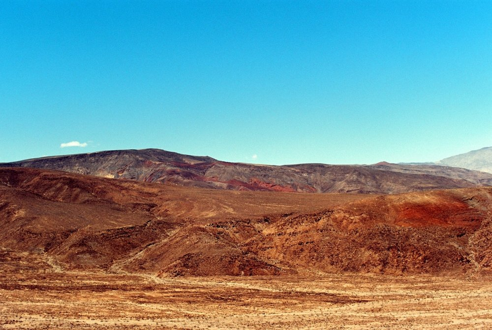 Painter's Palette, Death Valley, CA - Kodak Ektar