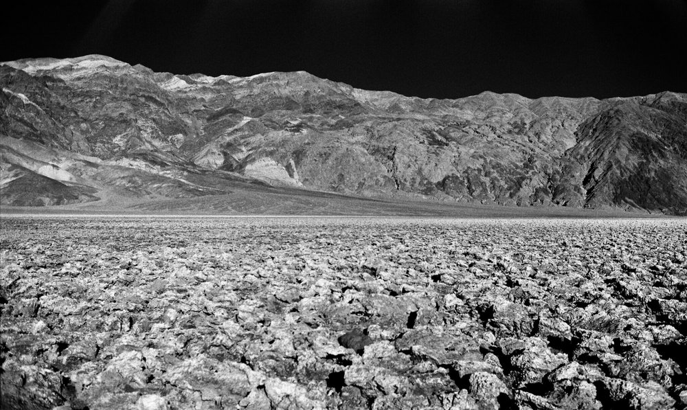 Devil's Golf Course, Death Valley, CA - Rollei Infrared