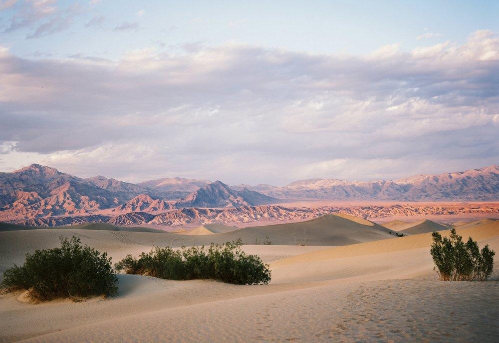 Mesquite Flats Death Valley, CA - Kodak Portra 400