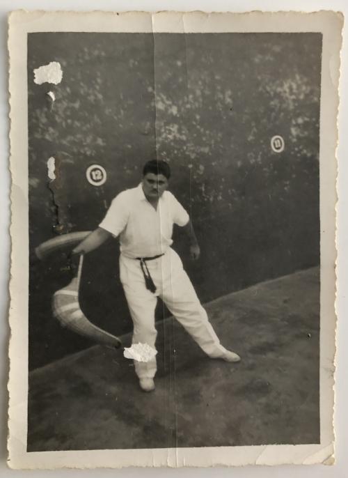 Jai Alai in Cuba, 1957