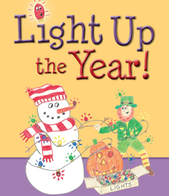 Light Up the Year by Debbie Hoven  Published by Beaver's Pond Press