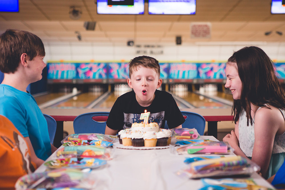 Birthday Parties - Hassle-free parties are our specialty! We handle all of the set up, clean up, + serving. You bring the cake + the kiddos, we'll handle the rest!