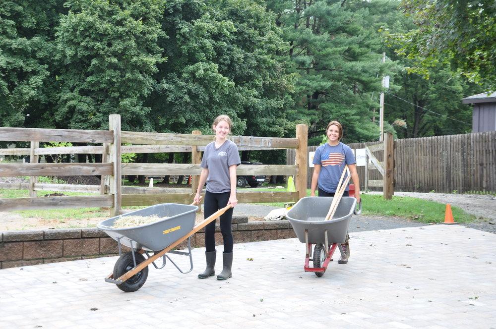 Farm Crew Volunteers