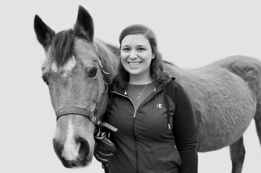Emily started riding at age eight and followed her passion of horses to college, where she earned her degree in animal science from Rutgers University. After graduating, Emily worked as an equine veterinary technician, but discovered that her passion was in the field of therapeutic riding when she started volunteering at Pony Power. Emily joined Pony Power's staff full time in early 2019, working both in horse care and as an instructor.