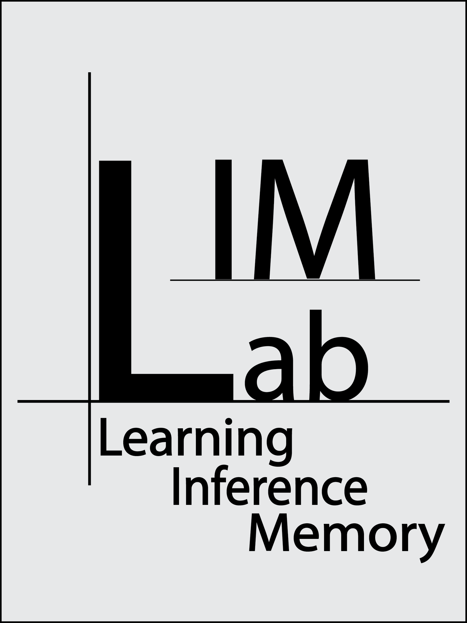 Learning, Inference & Memory