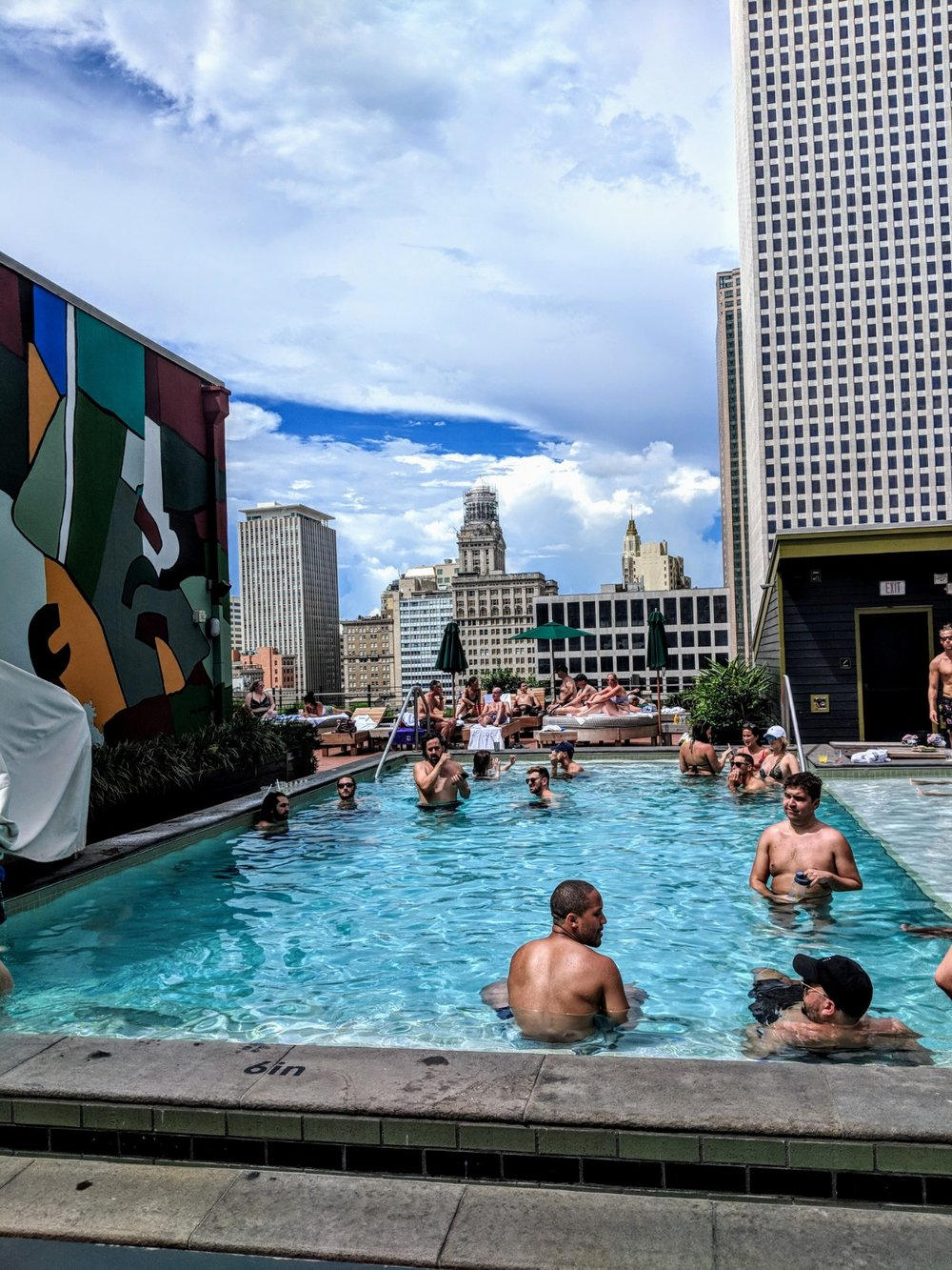 Rooftop pool at Ace Hotel
