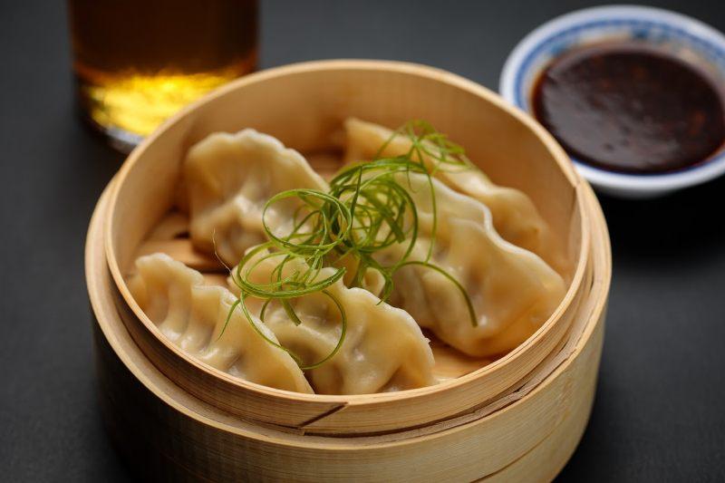 Pork and ginger dumplings | Photo courtesy drafthouse.com
