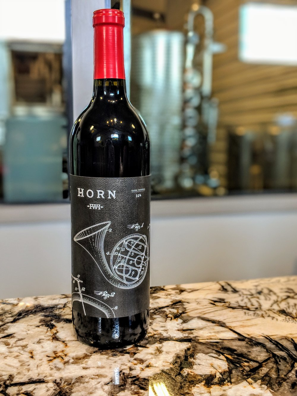 Wine from Horn Winery