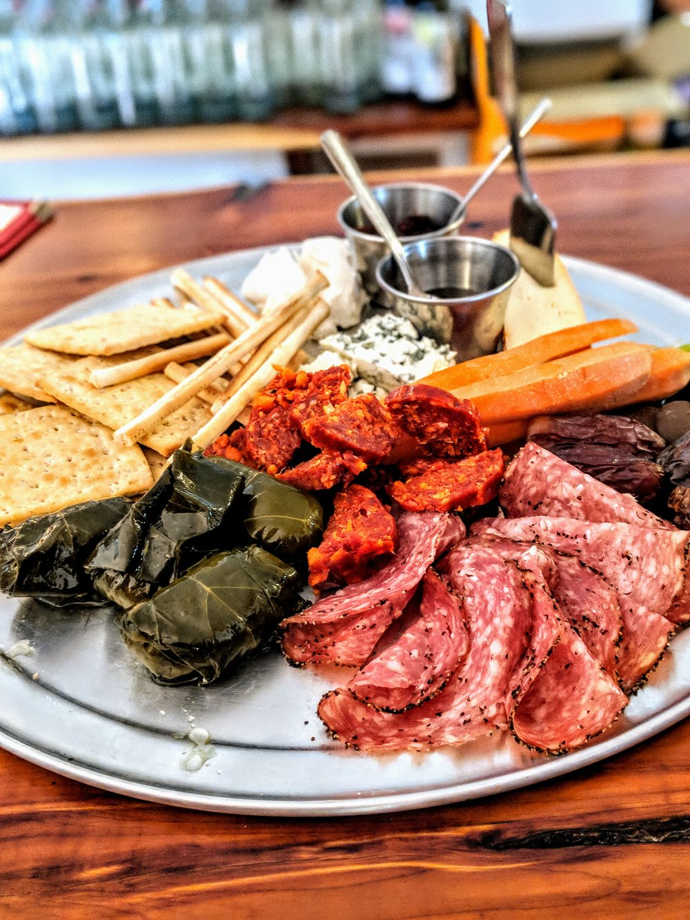 Dope meat and cheese plate!