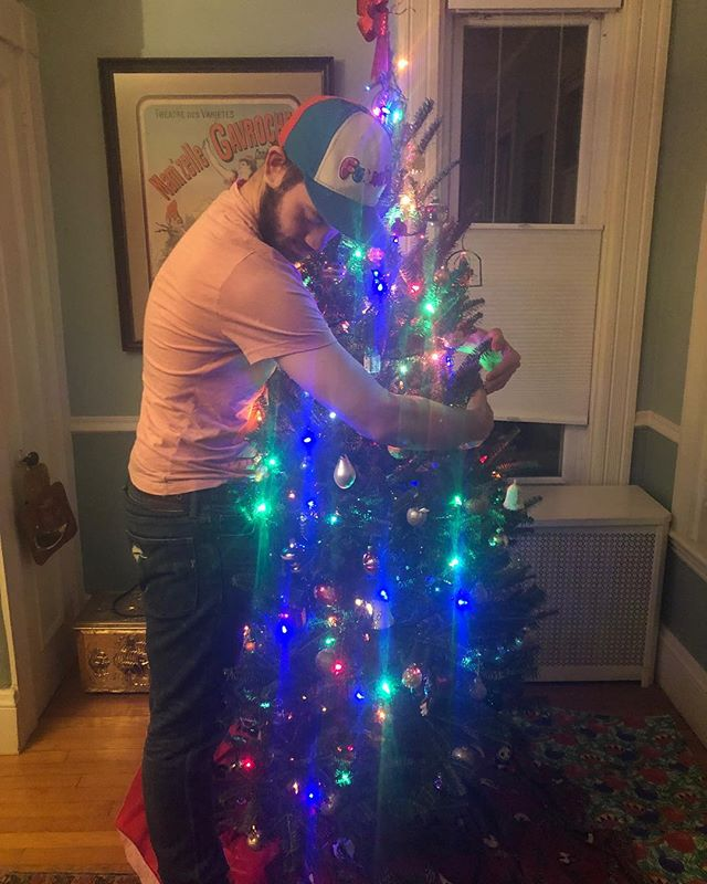 We already miss you holiday season.  Can't wait to see everyone next week! Lots of surprises in store.  #tree #nature #hug #christmas #family #community #improv #sketch #comedy #friends #holiday #newyork #nyc #ny #bigapple #home #tank #armory #act #theater #create #winter #tistheseason #merrychristmas