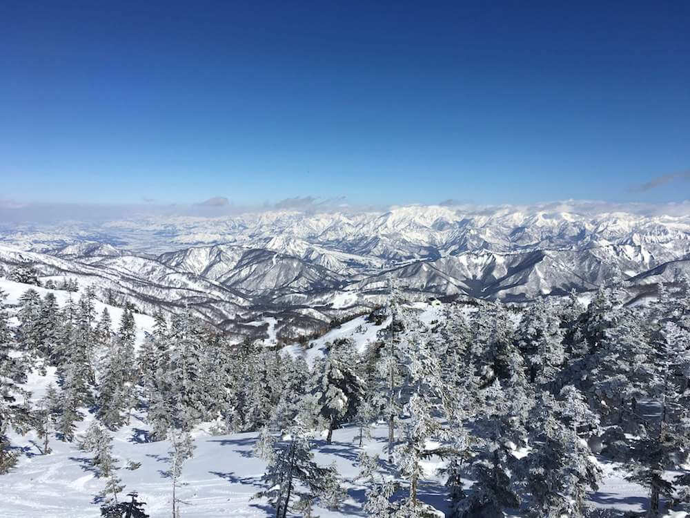 Shiga Kogen offers European style resort skiing