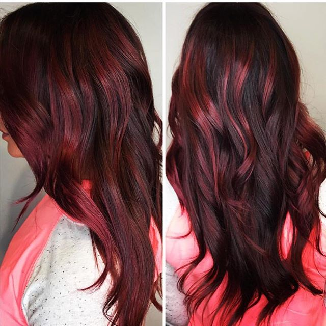 We ❤️ Reds.....Eli Colour by @nikkifovel !  _ _  #redhair #redhead #healthy #hair #vavavoom #we❤️it #nofilter #photoshoot #longhair #elicolour #colourchange #haircolor #haircolour #hairdresser #behindthechair #modernsalon #hairpainting #maxelieurope