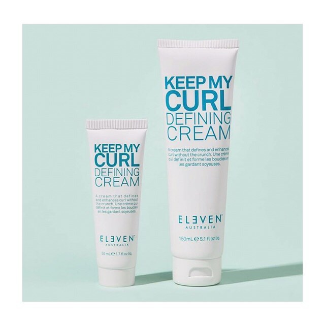 Our Keep My Curl Defining Cream is coming soon in travel size! For soft crunch free curls. #crueltyfreecosmetics #crueltyfreebeauty #beautybrands #elevenaustralia #hairstyles_ideas__