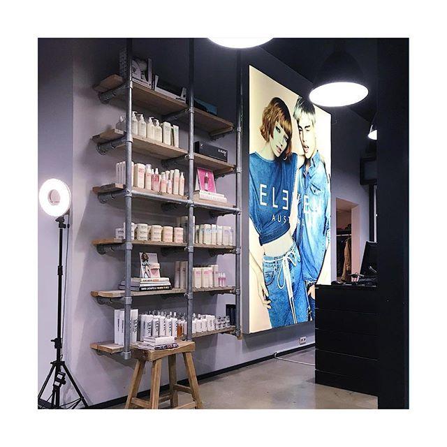Perfect visual & retail @velvetmonkeyhouseofhair #elevenaustralianl #elevenaustralia #haircare #visual #presentation #nederland #almelo