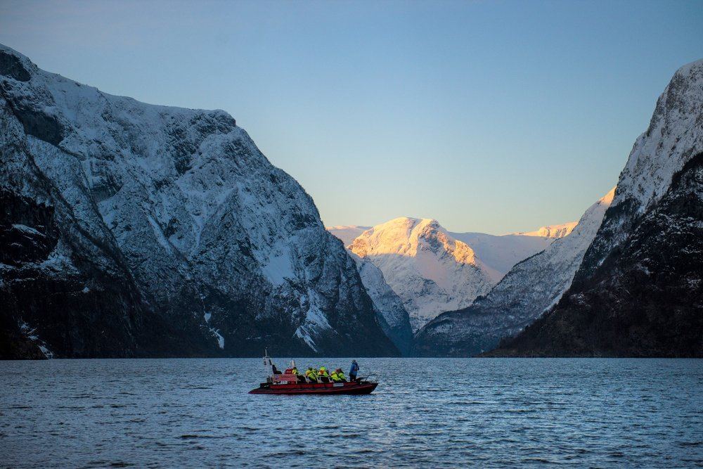 fjordsafari rib tours - all year! - FjordSafari use open RIB boats with a maximum of 12 guests, ensuring a personal experience with the guide and a chance to get close to small villages and waterfalls along the way. Your guide will share stories, local history and even some tales from this spectacular area, and on calm days there is a chance to see some of the wildlife that lives in and around the fjords.FjordSafari has a capacity of 60 people between April and October, and 36 people between November and March.