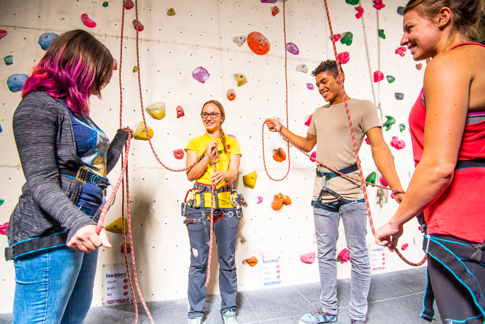 First Time Climbers -