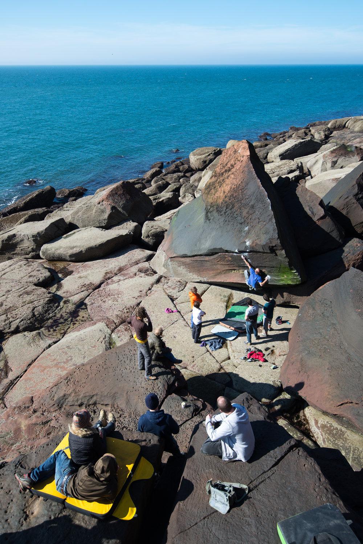 Outdoor Climbing -