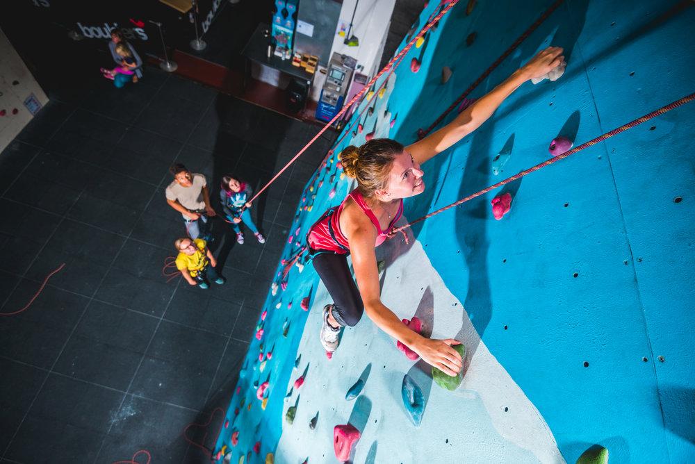 Adult Climbing -