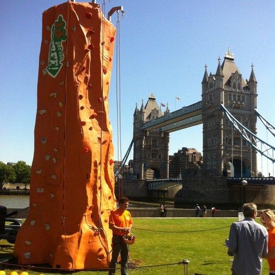 Mobile Climbing Wall -
