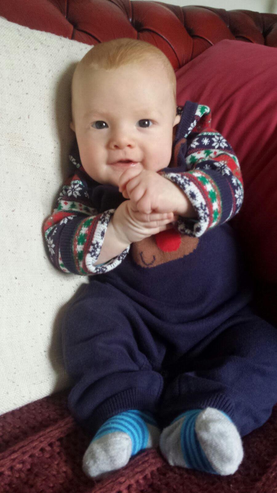 Hunter Logan Denholm. How gorgeous is this little man?!