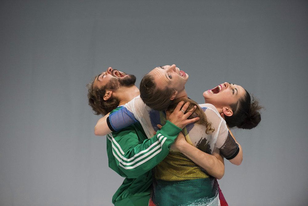Photo: Hugo Glendinning. Dancers:  Nicolas Vendange, Megan Armishaw, Mickaella Dantas